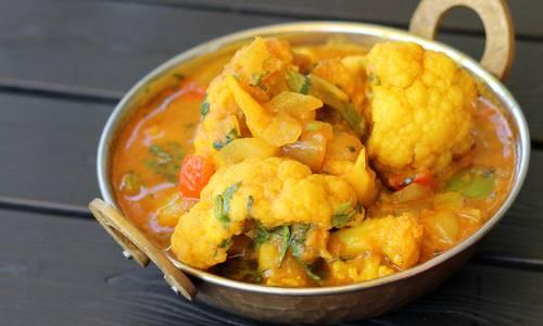 Lunch Aloo Gobi (V) (GF) from Star Of India Tandoori Restaurant in Los Angeles, CA