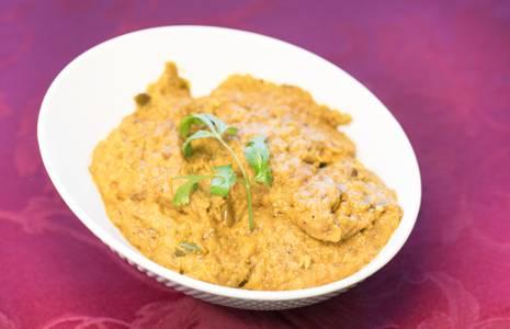 Lunch Eggplant Bharta (GF) from Star Of India Tandoori Restaurant in Los Angeles, CA
