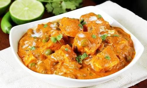 Lunch Matar Paneer (GF) from Star Of India Tandoori Restaurant in Los Angeles, CA