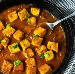 Lunch Tofu Masala (V)(GF) from Star Of India Tandoori Restaurant in Los Angeles, CA