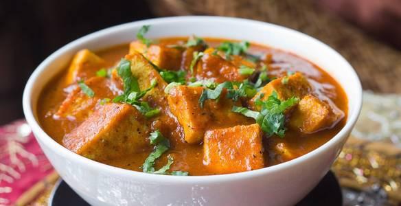 Lunch Tofu Vindaloo (V) (GF) from Star Of India Tandoori Restaurant in Los Angeles, CA