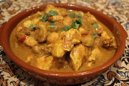 Mushroom Chicken (GF) Dinner from Star Of India Tandoori Restaurant in Los Angeles, CA