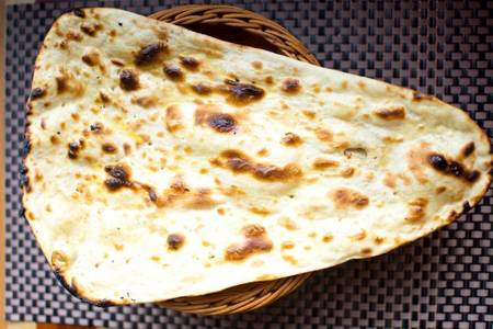 Naan from Star Of India Tandoori Restaurant in Los Angeles, CA