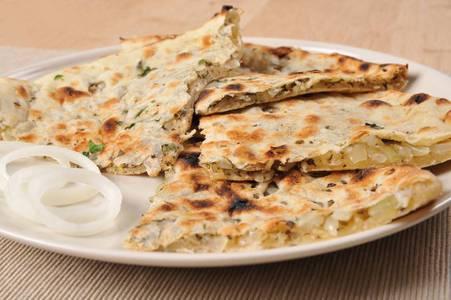 Onion Kulcha from Star Of India Tandoori Restaurant in Los Angeles, CA