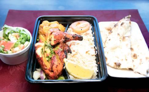 Tandoori & Vege Combo from Star Of India Tandoori Restaurant in Los Angeles, CA