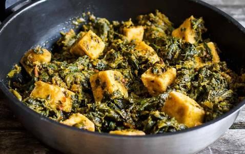 Tofu Saag (V) (GF) from Star Of India Tandoori Restaurant in Los Angeles, CA