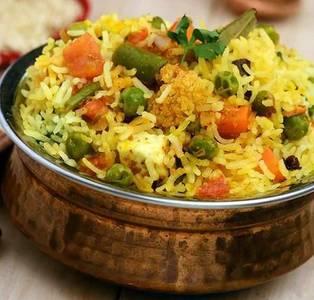 Vegetable Biryani from Star Of India Tandoori Restaurant in Los Angeles, CA