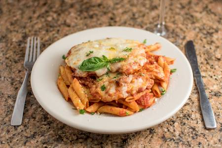Chicken Parmesan from Sunroom Cafe in Madison, WI