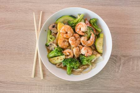 123. Shrimp Udon from Sushi Express in Madison, WI