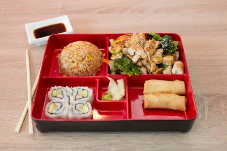 143. Chicken Teriyaki Bento Box from Sushi Express in Madison, WI