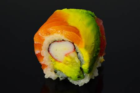 SP10. Rainbow Roll from Sushi Express in Madison, WI