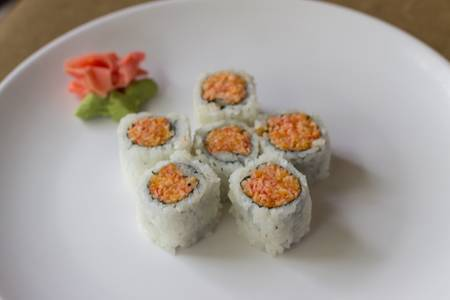 R25. Spicy Crab Meat Roll from Sushi Pirate in La Crosse, WI