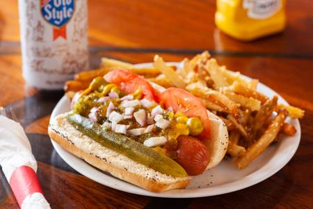 Chicago Dog from Sweet Home Wisconsin in Madison, WI