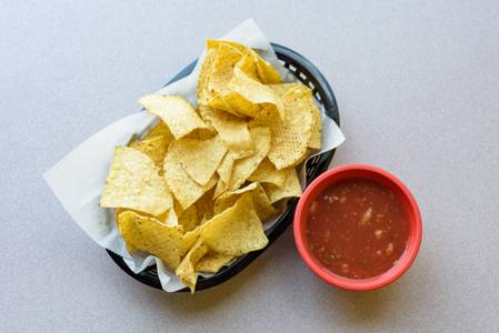 Chips & Salsa from Taco King - W Liberty Rd. in Ann Arbor, MI