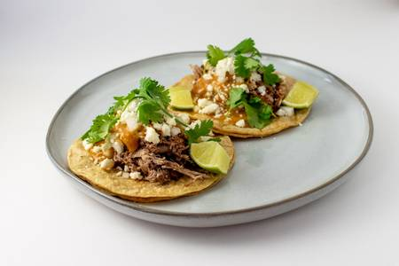 Cola Braised Pork Carnitas Tacos from Taco Royale - W Cloud St in Salina, KS