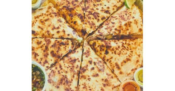 Pizza Dilla: Beef Birria from Taqueria Maldonado's - Main Street in Green Bay, WI