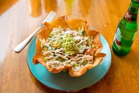 Taco Salad Bowl from Taqueria Maldonado's - Main Street in Green Bay, WI