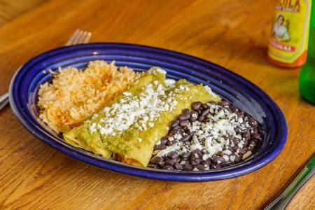 Sweet Potato Enchiladas from Tex Tubb's Taco Palace in Madison, WI
