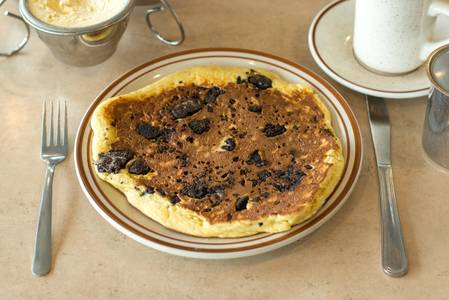 Oreo Pancake Breakfast from The Pancake Place in Green Bay, WI
