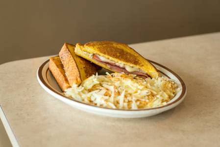 Monte Cristo Sandwich Breakfast from The Pancake Place in Green Bay, WI
