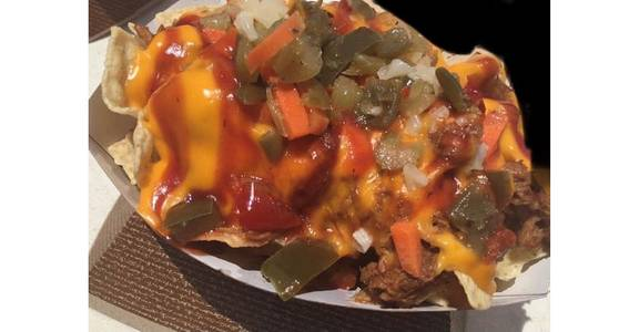 D.T.E. Nachos from The Truck Stop in Milwaukee, WI