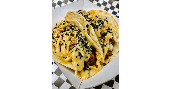 Korean Chicken Tacos (2) from The Truck Stop in Milwaukee, WI
