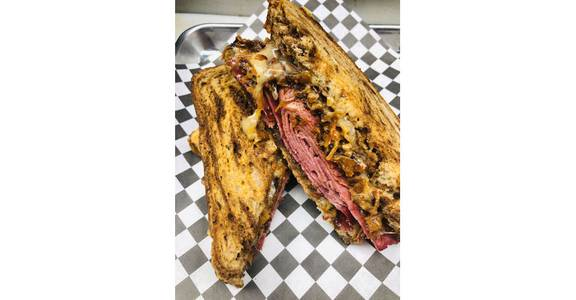 MKE Rueben from The Truck Stop in Milwaukee, WI