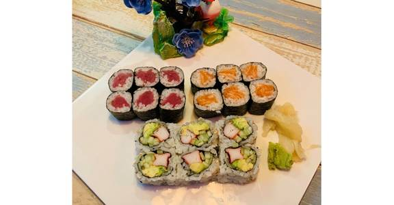 Maki Combo from Tokyo Sushi in Madison, WI