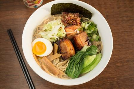 Brunch Ramen (Brunch) from Umami Ramen & Dumpling Bar in Madison, WI