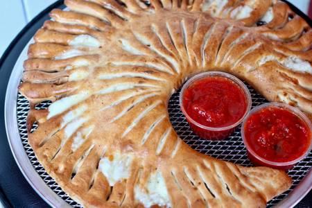 Supreme Stromboli from Valentino's Italian Pizzeria in Richmond, VA