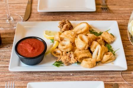Crispy Calamari from Villa Dolce in Middleton, WI