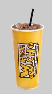 Regular Fountain Drink from Which Wich - Williamsburg in Williamsburg, VA