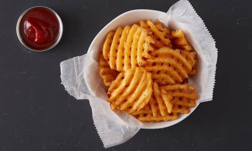 Waffle Fries from Wings Over Milwaukee in Milwaukee, WI