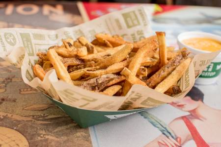Fresh Cut Seasoned Fries from Wingstop in Madison, WI