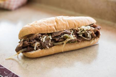Original Philly Steak Sandwich from Zaza Steak & Lemonade in Milwaukee, WI