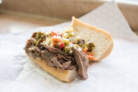 Italian Beef Sandwich from Zaza's Steak & Lemonade - Fond Du Lac Ave in Milwaukee, WI