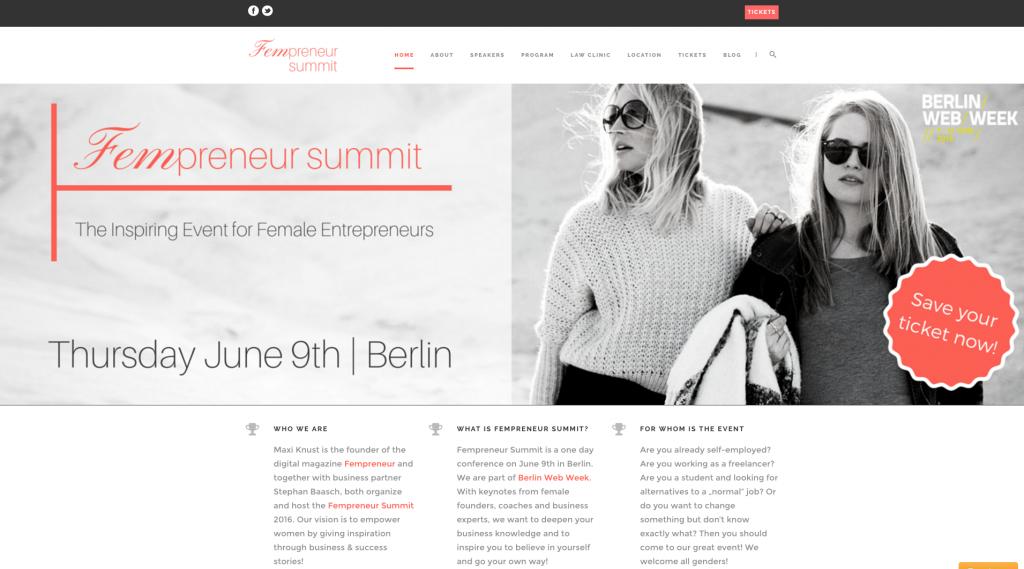 7 Beispiele für gelungene Event-Webseiten - Eventbrite Deutschland