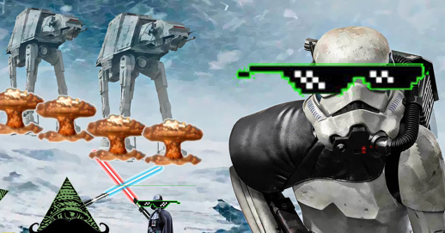 Star Wars Video Game DEAL WITH IT