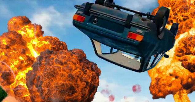 Playerunknown S Battlegrounds Maps Loot Maps Pictures: Car Rolls Down Hill And Crushes Players In Hilarious PUBG