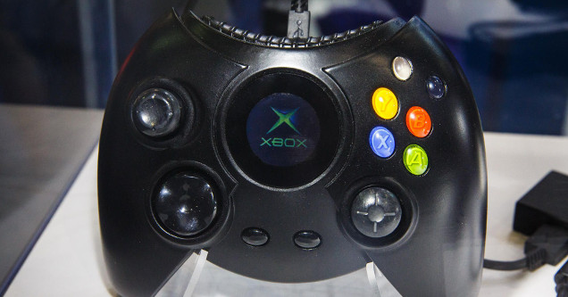 Original Xbox Duke controller Xbox One.