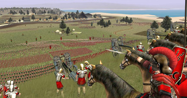 Video Game Capture - Rome Total War