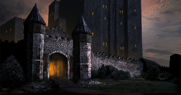 Castle at Baldur's Gate
