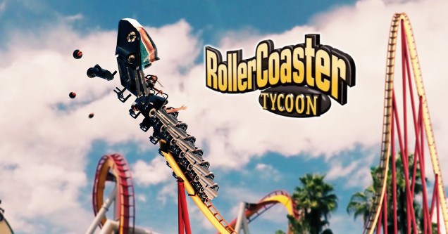 RollerCoaster Tycoon funny.
