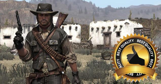 Red Dead Redemption award.