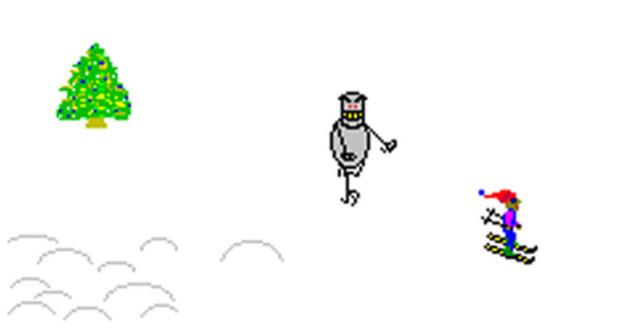 SkiFree video game