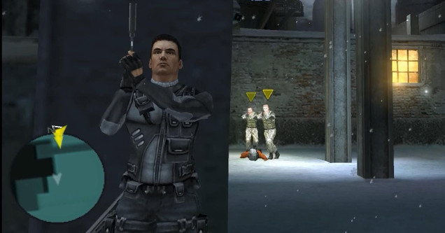 Syphon filter video game screen grab