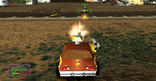 Screen Shot of Vigilante 8 Video Game