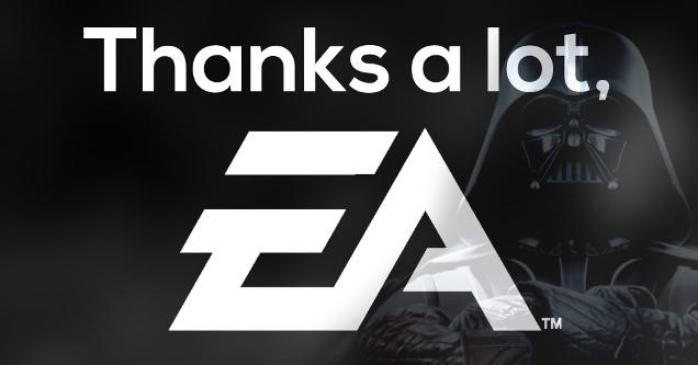 EA worst company Star Wars 2017