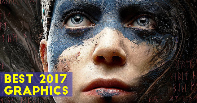 Best video game graphics in 2017