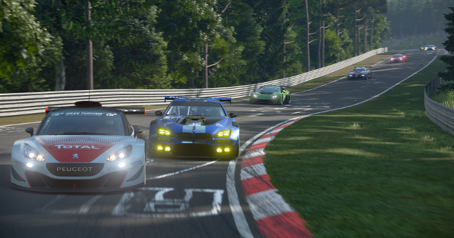 Gran Turismo single player campaign